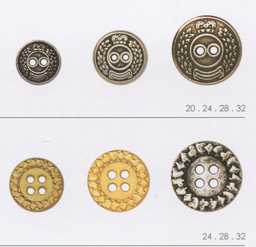 ПУГОВИЦЫ МЕТАЛЛ. И ZAMAK- Различные виды пуговиц из металла. Большой выбор по дизайну, форме, размеру и цвету.