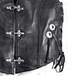 КОНЧО- Декоративные элементы для украшения кожанных ремней, сумок, жилетов.  Производство: Италия.
